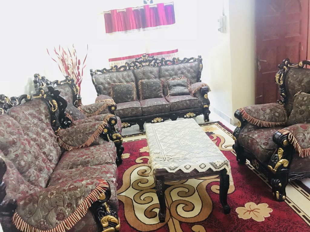 Salon et tapis