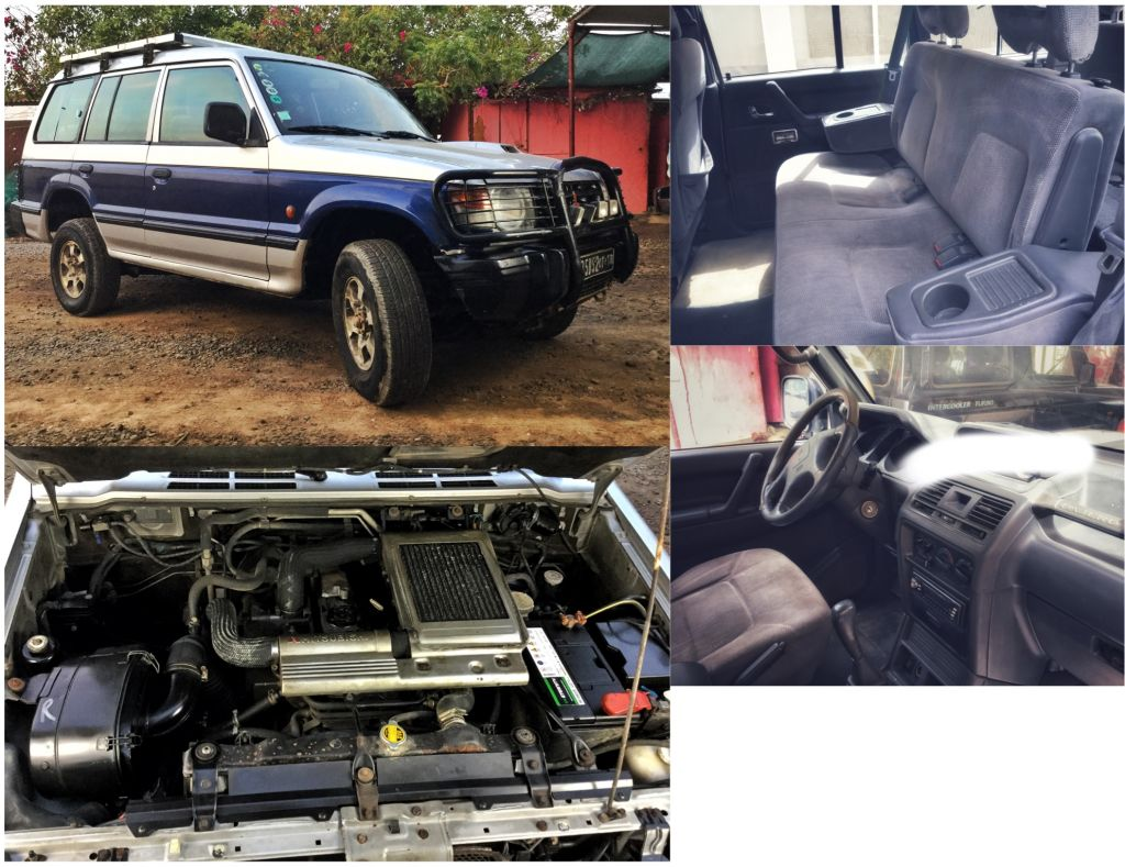 Vends Mitsubishi Pajero long 7 places