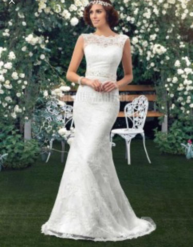 Vente de robe blanche