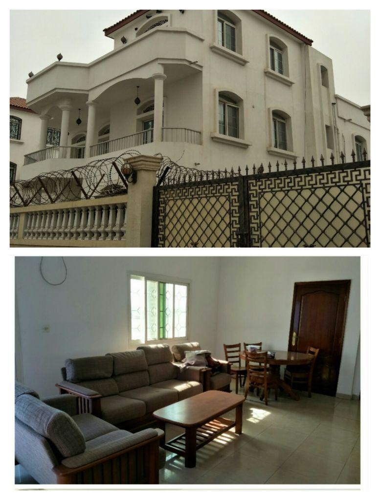 Villa et Appartement à louer au Saline ouest