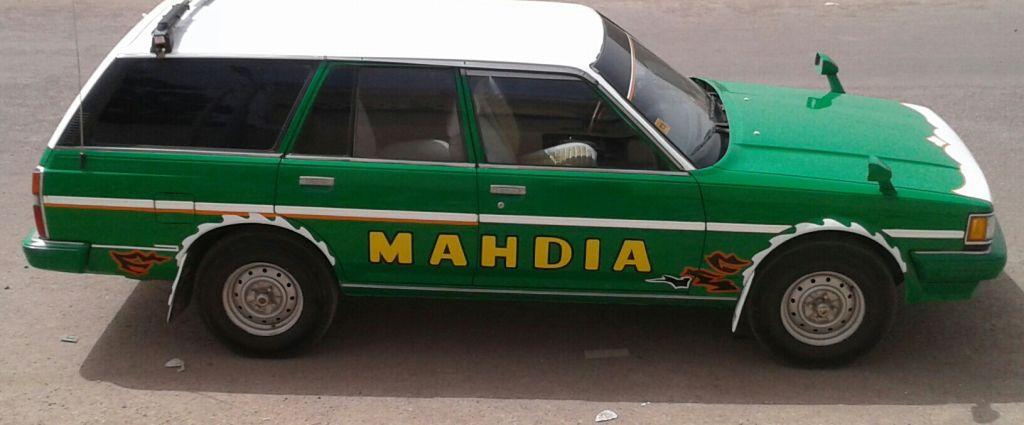 Taxi en bon état
