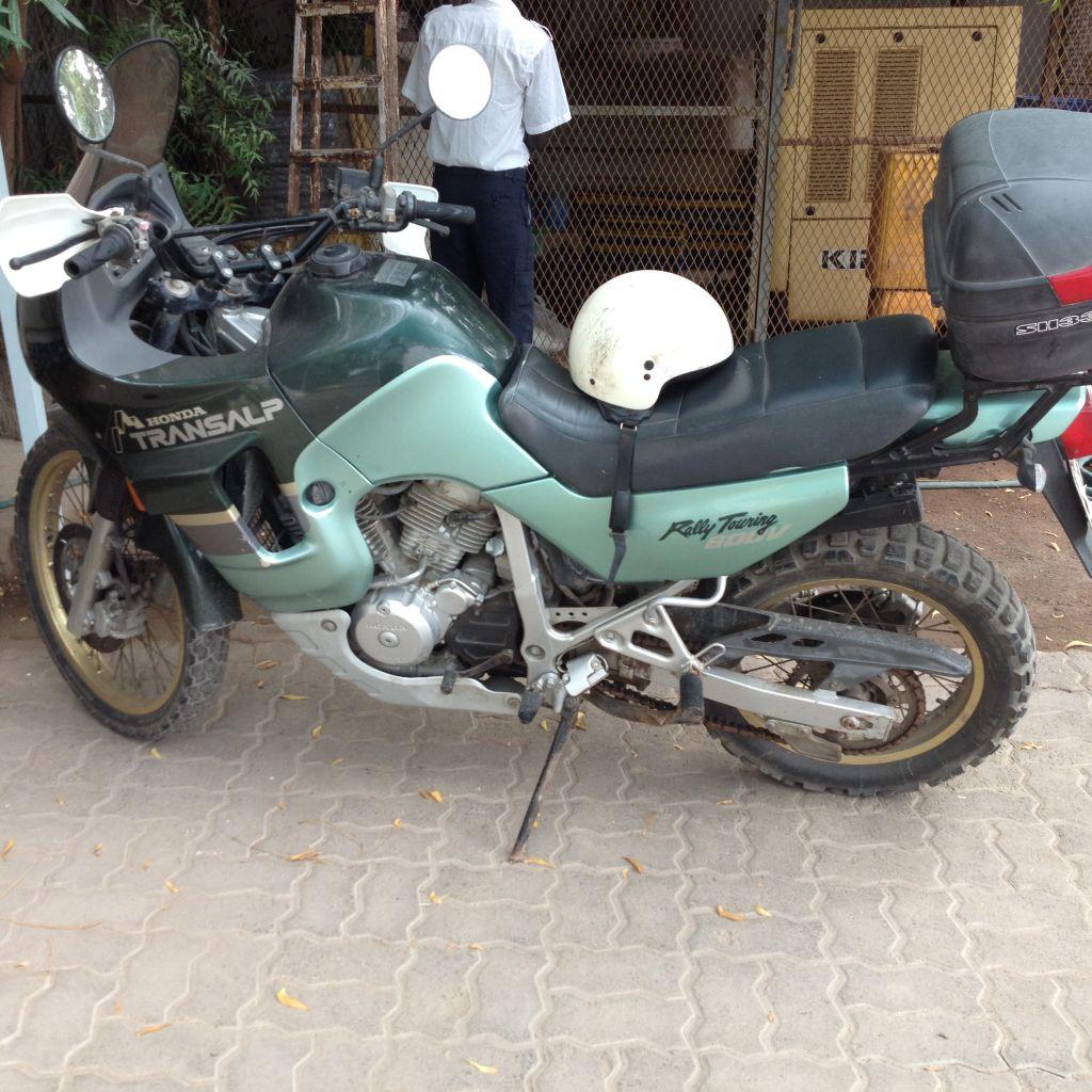 Vente d'une moto
