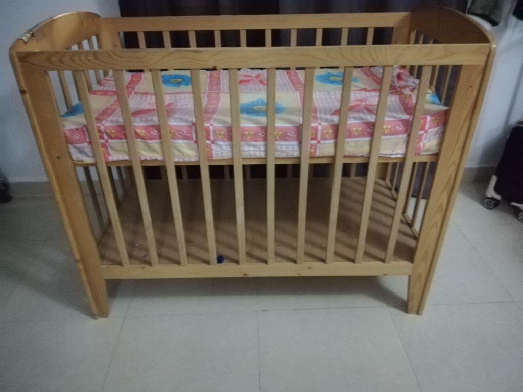 Lit pour bebe avec matelas