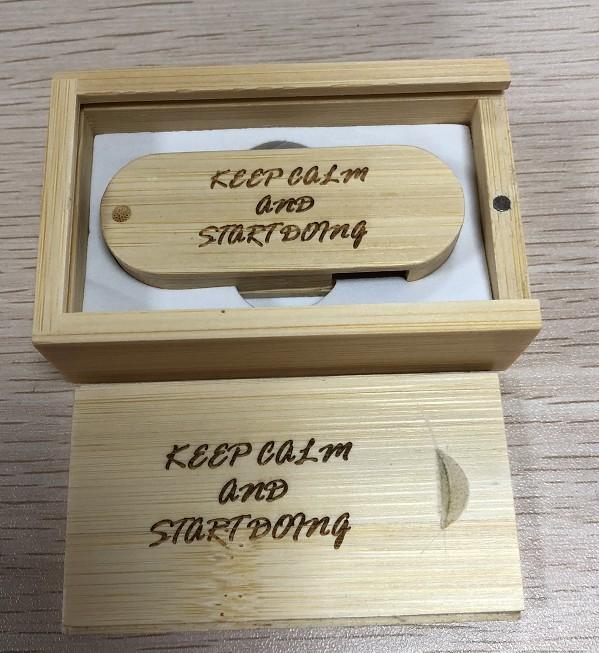 Clé USB flash en bois Premier.