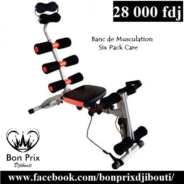 Banc de Musculation Six Pack Care à vendre