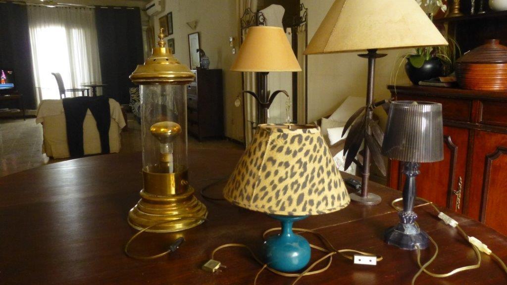 Diverses lampes de salon