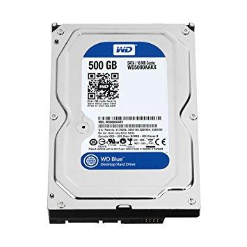 Disque dur 500GB SATA WD