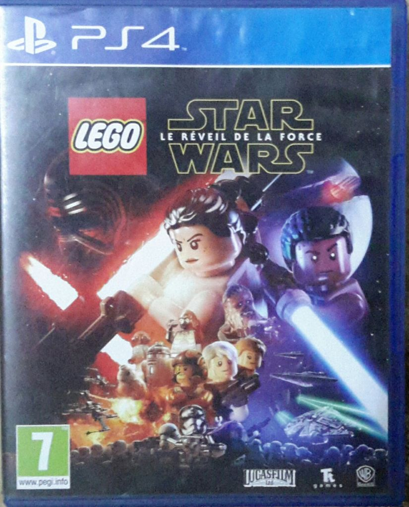 Jeux PS4 CD PS4 LEGO STAR WARS