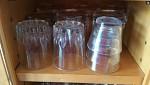 Des verres à eau