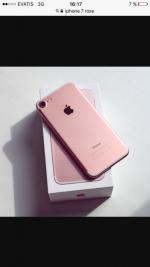 Téléphone iPhone7 couleur rose 32GB