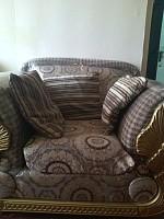 Salon et quatres fauteuil