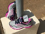 chaussures neuves asics taille 36