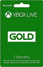 XBOX LIVE GOLD !