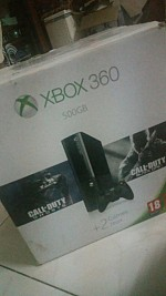 Xbox 360 used + 2 games