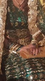 Ensemble hindou pour mariée