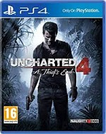 Uncherted 4 PS4 a vendre