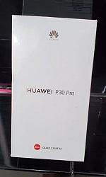 Huawei P30 pro Nouvelle enveloppe