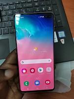 Je vends téléphone Samsung s10 plus couleur métal