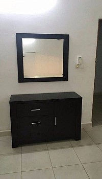 commode avec miroir djibouti. Black Bedroom Furniture Sets. Home Design Ideas