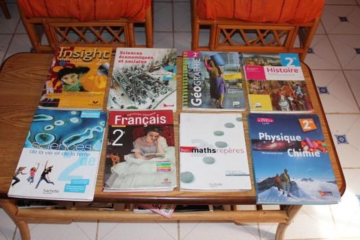 Lot Livres Seconde Lycee Kessel Pour Annee 2012 2013 A Djibouti