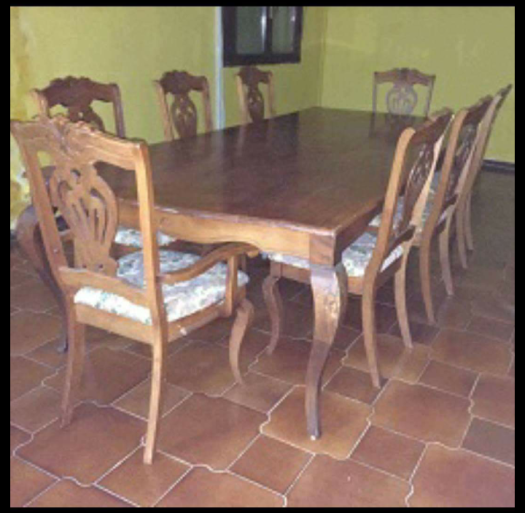 Salle manger table et chaises djibouti for Table salle a manger et chaise