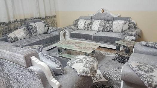 Salon moderne et saoudien lux complet et table a manger djibouti - Salon complet moderne ...