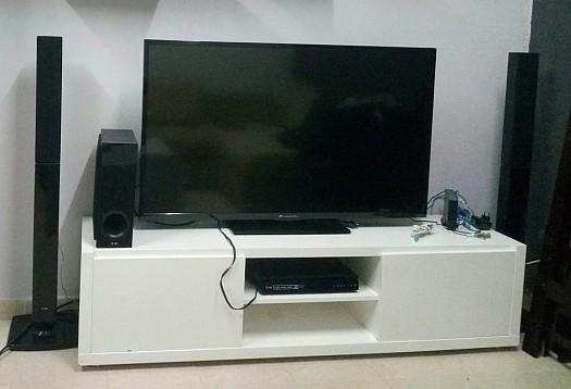 tv meubles home cin ma djibouti. Black Bedroom Furniture Sets. Home Design Ideas