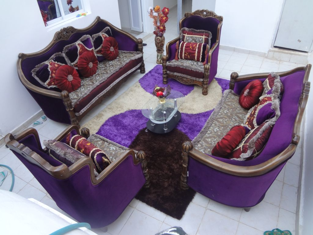 Meuble complet d 39 un salon vendre djibouti for Meuble de salon complet