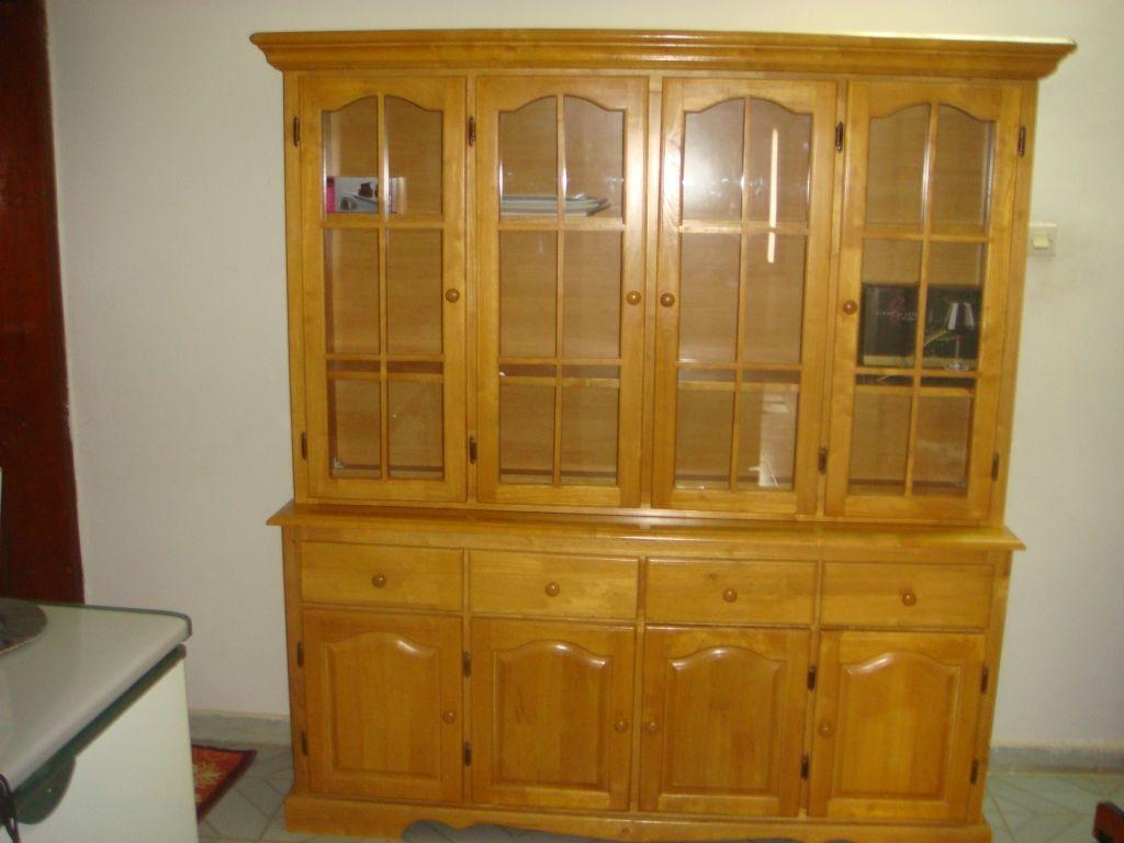 vaisselier en bois djibouti. Black Bedroom Furniture Sets. Home Design Ideas