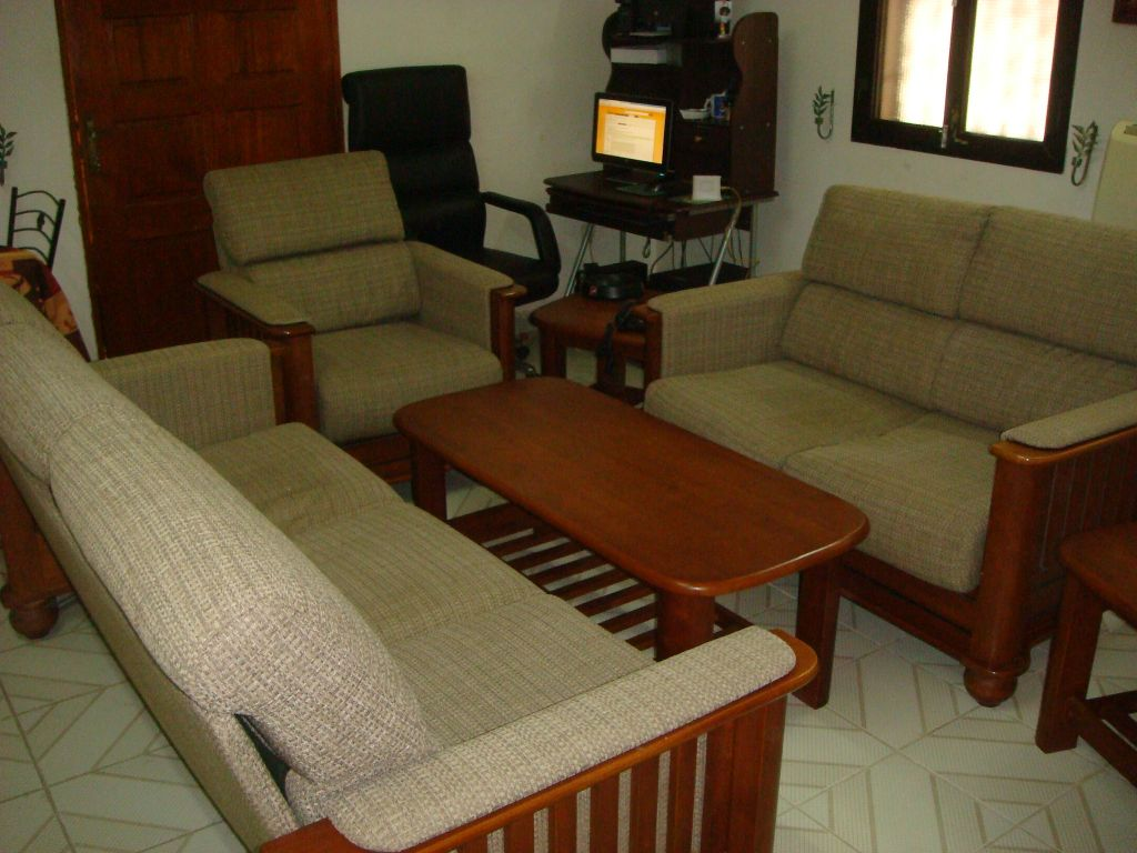 Salon en bois à Djibouti
