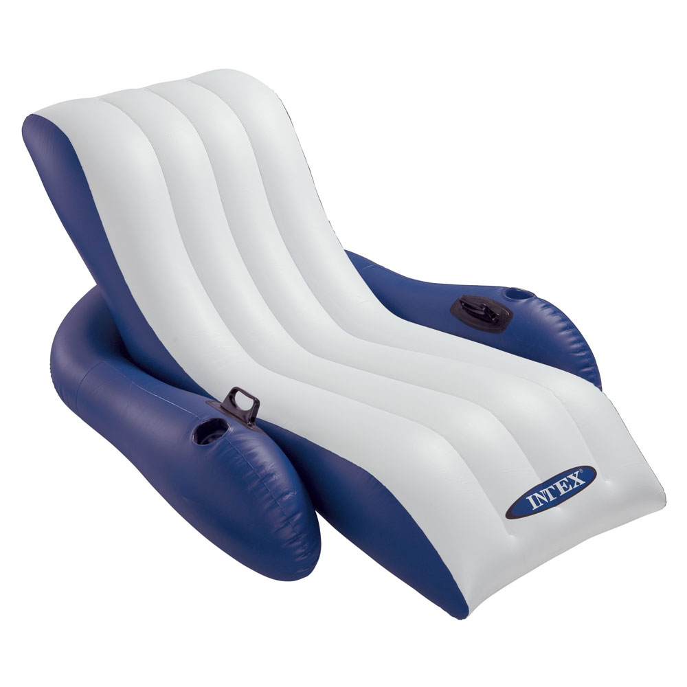 Chaise longue de piscine gonflable for Chaise pour piscine