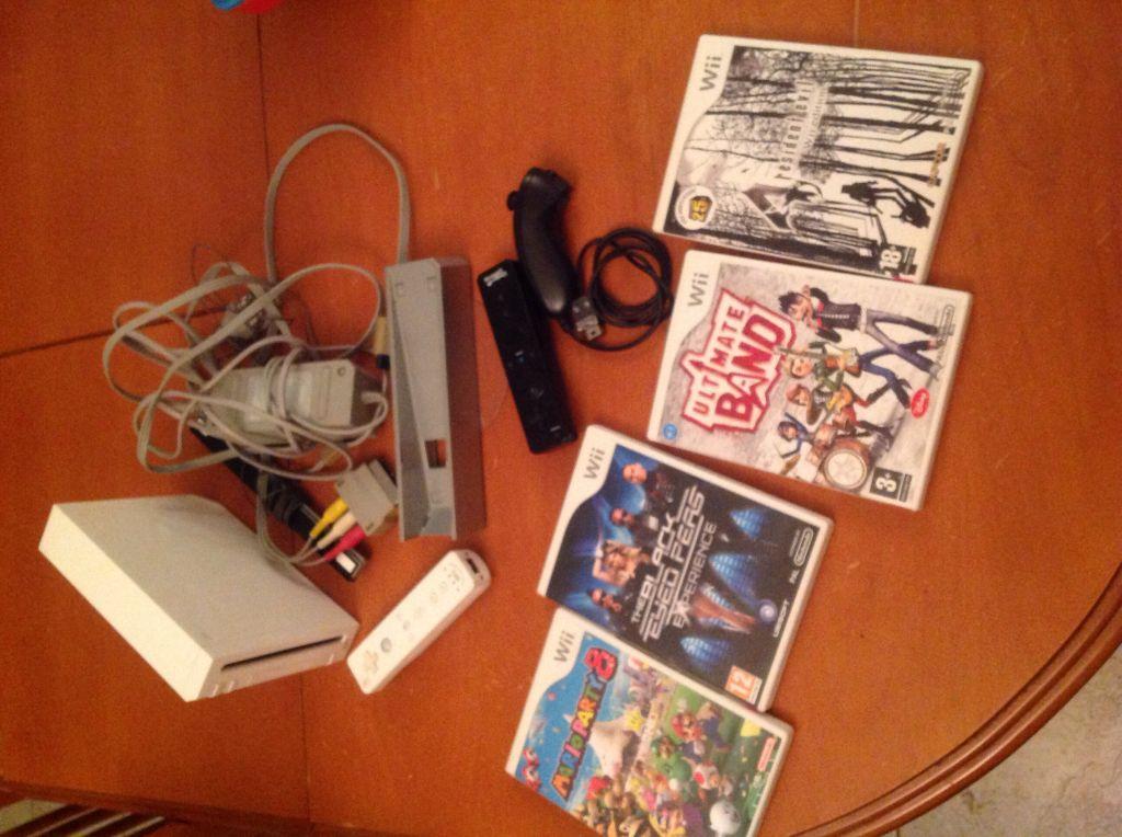 Wii avec 2 manettes et 4 jeux djibouti - Comment connecter manette wii a la console ...