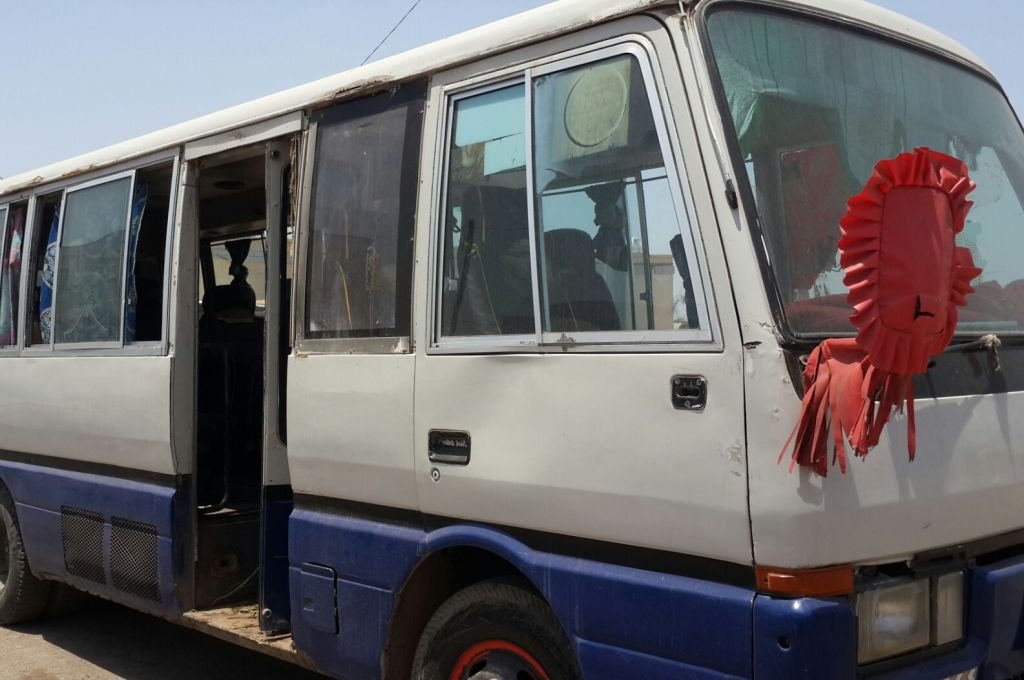 grand bus 30 places djibouti. Black Bedroom Furniture Sets. Home Design Ideas