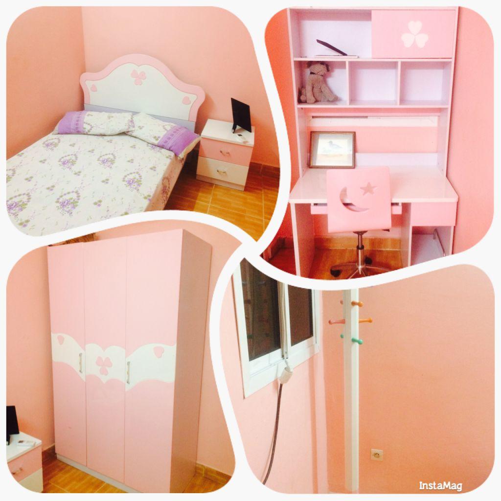 chambre a coucher pour petite fille djibouti. Black Bedroom Furniture Sets. Home Design Ideas