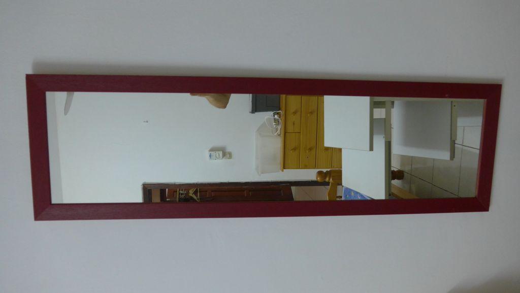 miroir grande taille encadrement bois peint djibouti. Black Bedroom Furniture Sets. Home Design Ideas