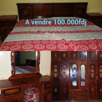 chambre coucher compl te djibouti. Black Bedroom Furniture Sets. Home Design Ideas