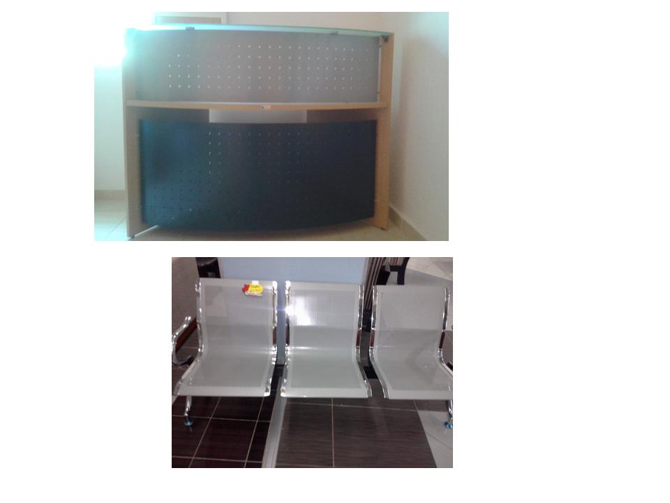 comptoir banc pour salle d 39 attente tous neufs djibouti. Black Bedroom Furniture Sets. Home Design Ideas