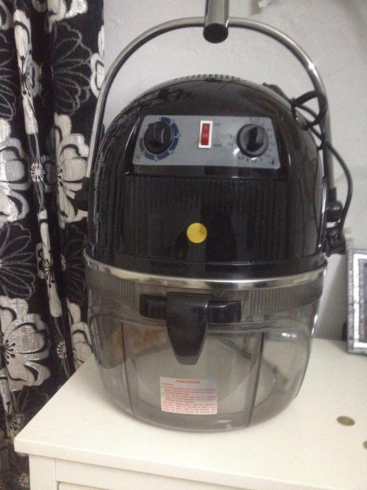 casque de coiffeur