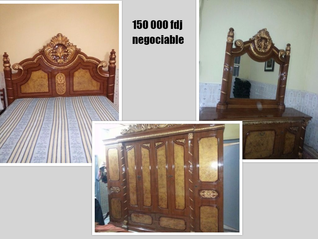 Chambre coucher compl te en excellent tat djibouti for Chambre a coucher occasion