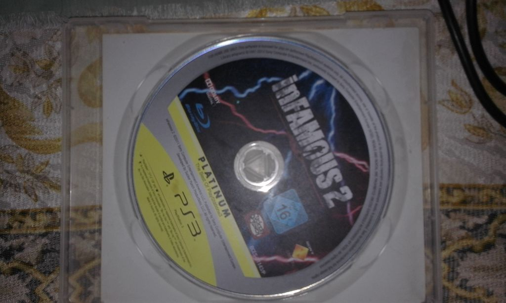 Exclusivité ps3 infamous 2