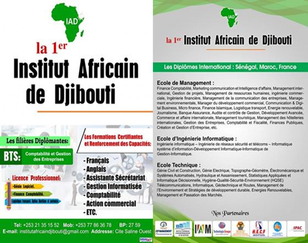 institut africain de djibouti