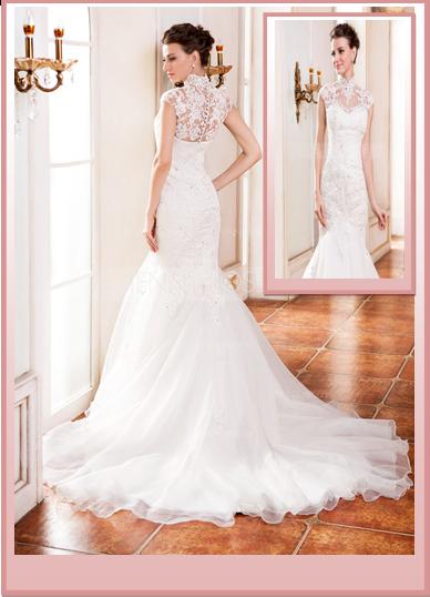Robe de mariée et ses accessoires