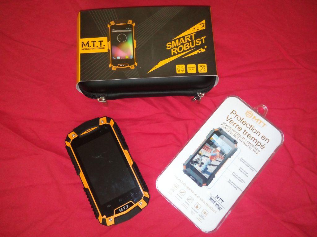 Smartphone MTT Smart Robust étanche et antichoc