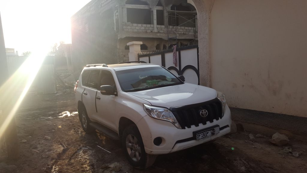 Toyota Prado Annee 2014