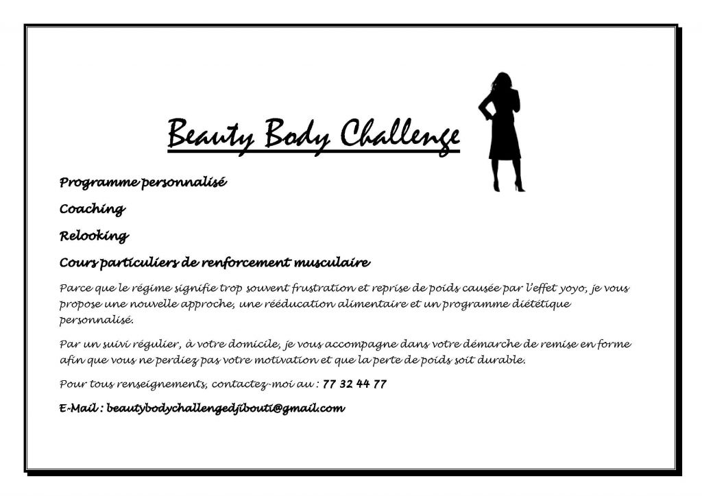 Beauty Body Challenge