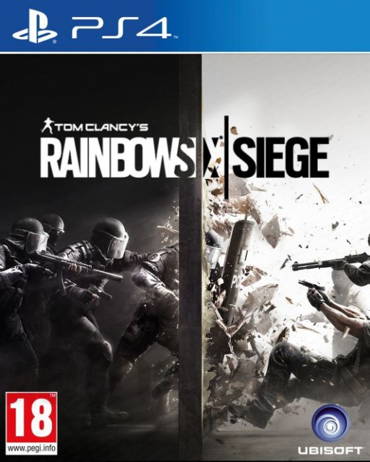 disque tom clancy's rainbow six siege sur PS4