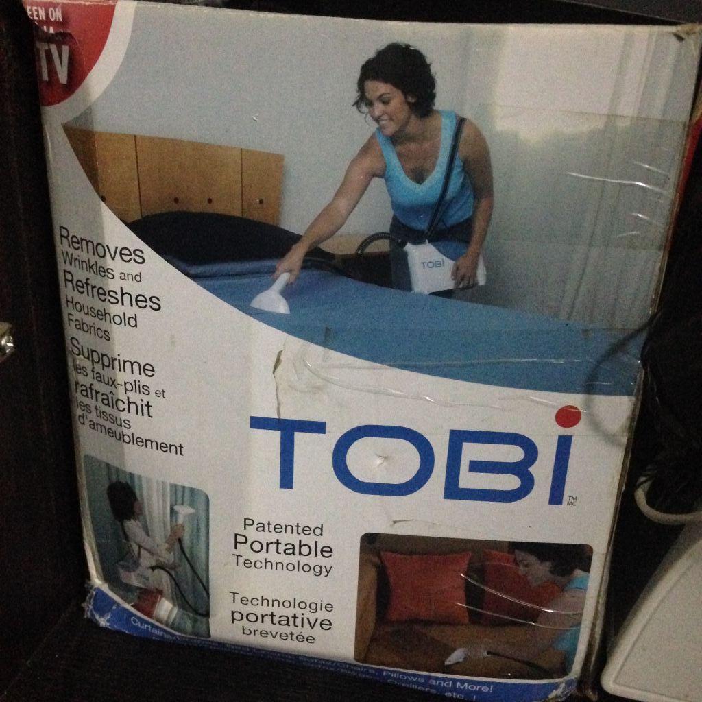 Fer à repasser Tobi à vapeur