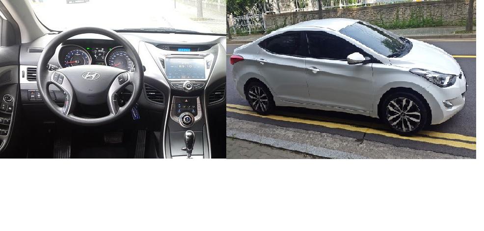 Hyundai Elantra 2014 LUXURY Jantes 17 pouces