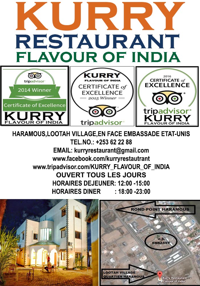 Job vacancies available in Kurry restaurant