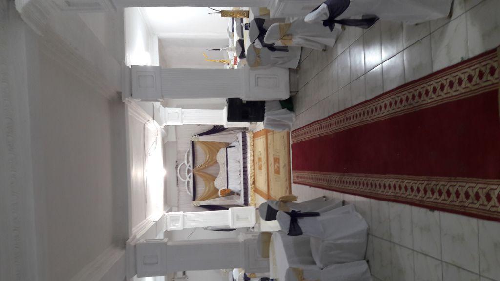 Location de salle de mariage, conférence, anniversaire